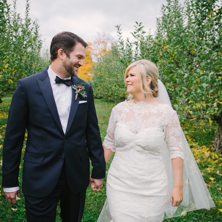 Autumn Quonquont Farm Wedding // Maura & Joel