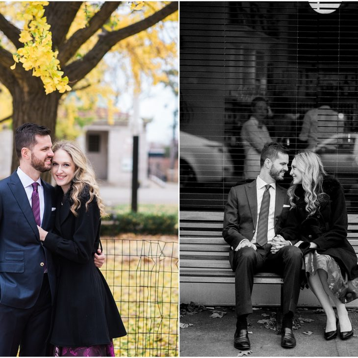 Fort Greene Engagement Session // Alex & Lacey