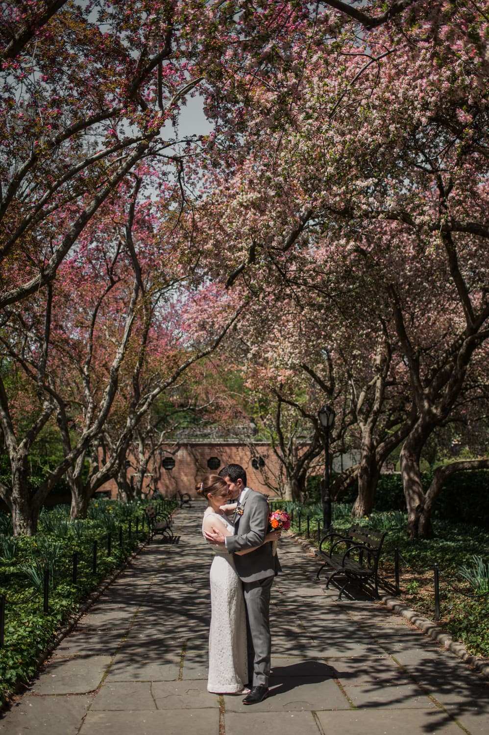 NYC Conservatory Gardens Elopement, NYC Elopement