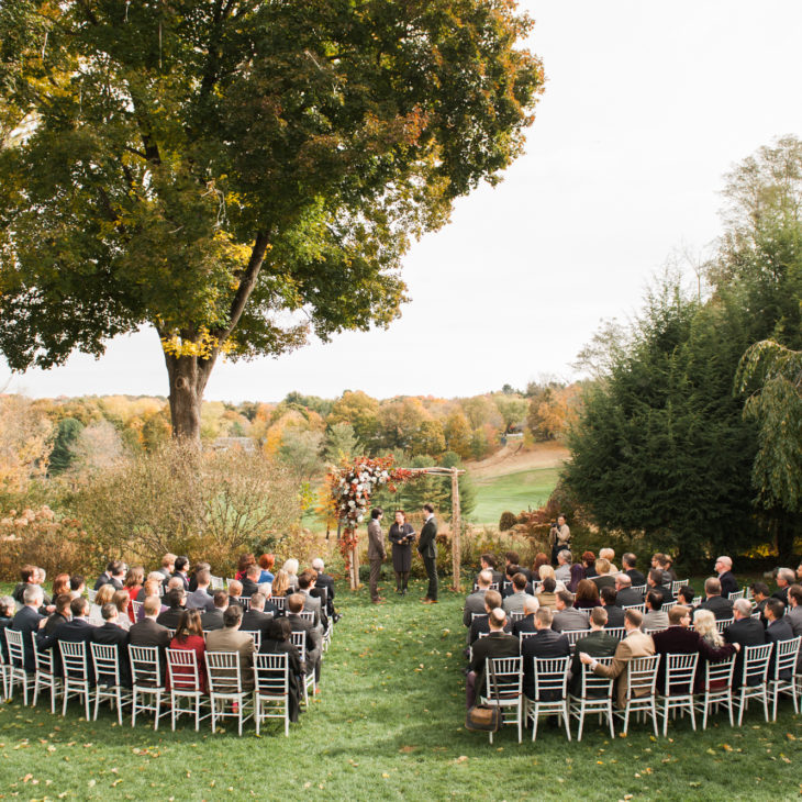 Crabtree's Kittle House Rustic Fall Wedding