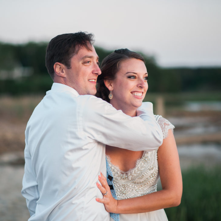 Pamet Harbor Club Lobster Bake Wedding // Rebekah & Jared
