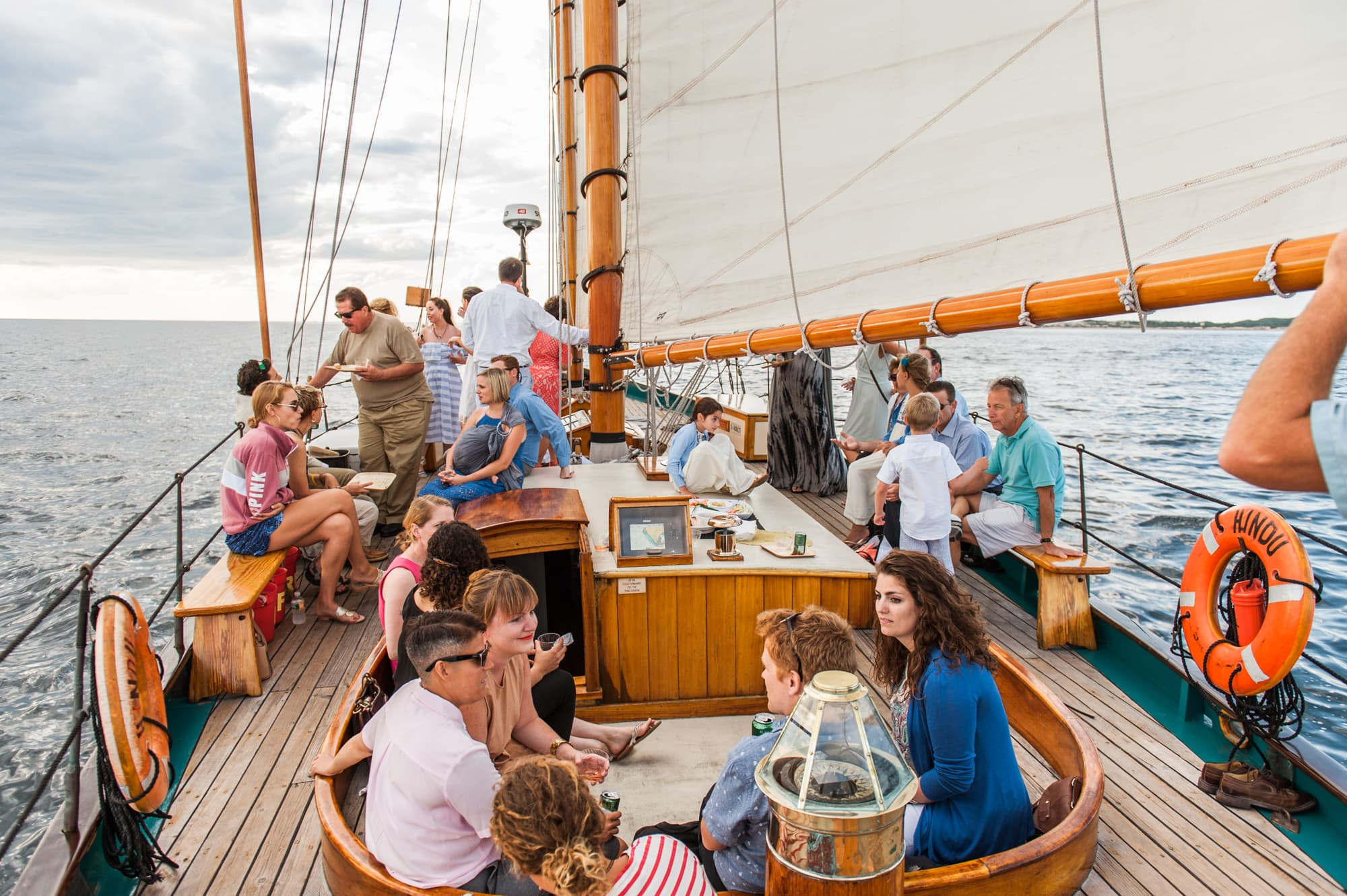 Provincetown Wedding, Hindu Schooner, Boat Wedding, Cape Cod Wedding