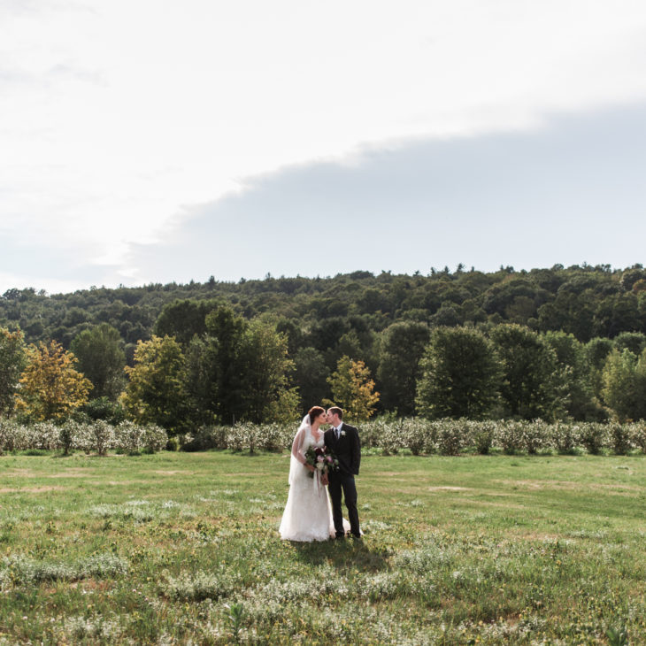 Quonquont Farm Summer Wedding // Kristin & Andy