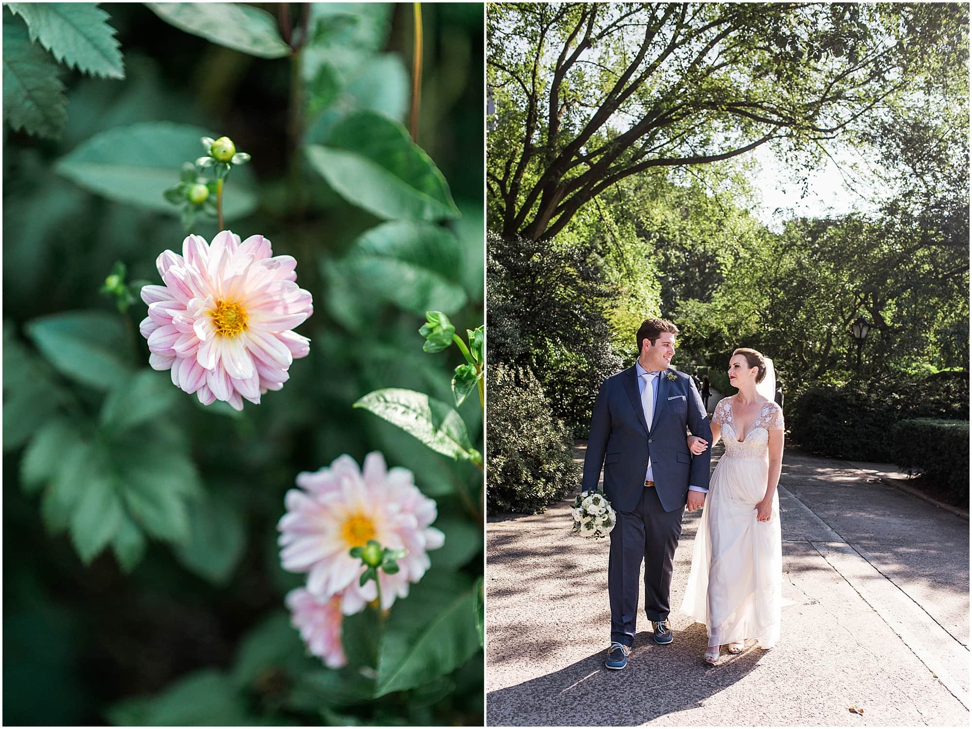 Eileen Meny Photography, Summer Conservatory Gardens Wedding, NYC Wedding