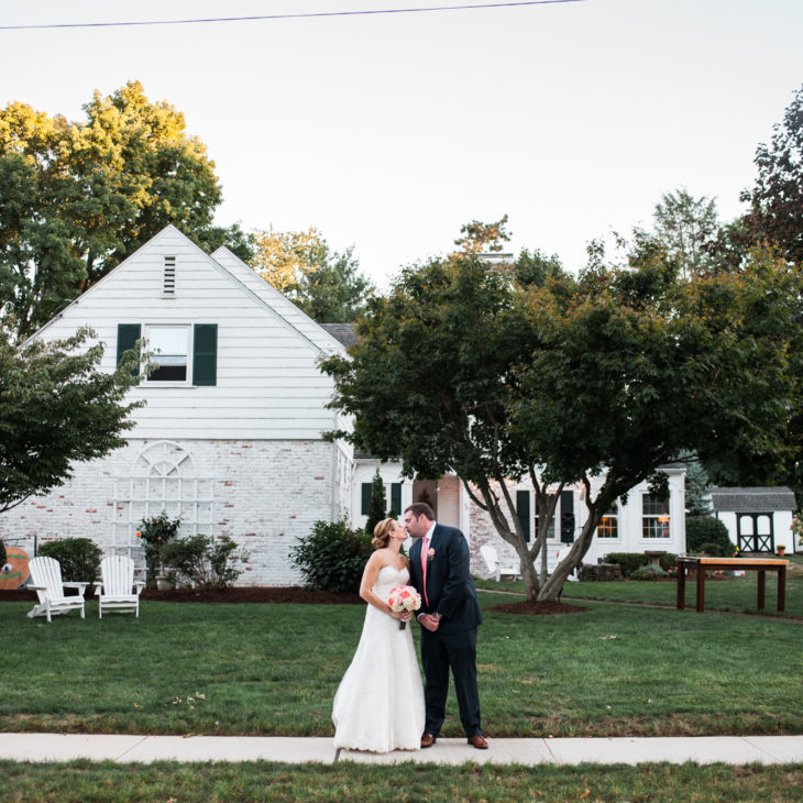 Backyard West Hartford Wedding // Kyleigh & Drew