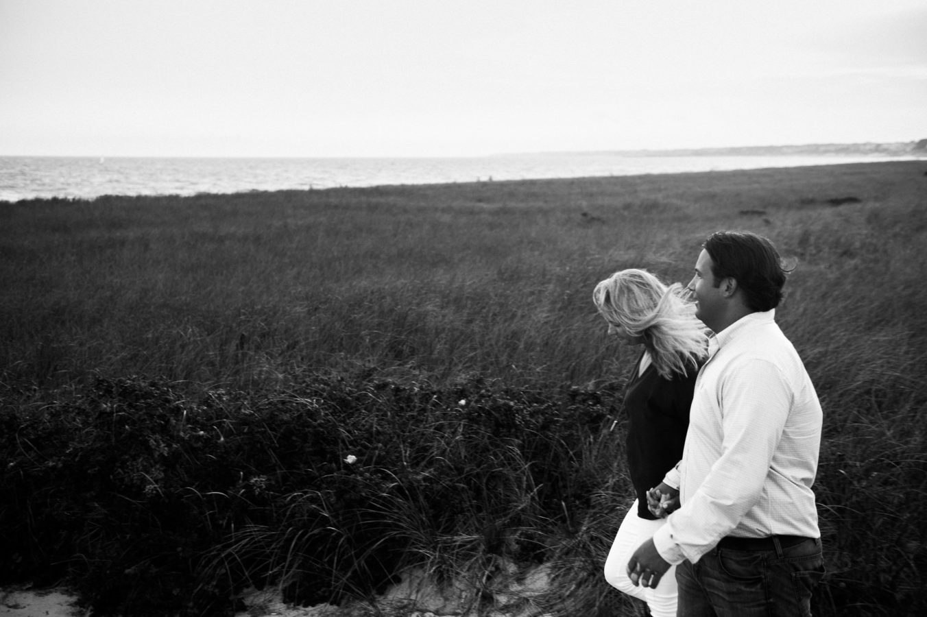 Harwichport Engagement Session, Merkle Beach Engagement Session
