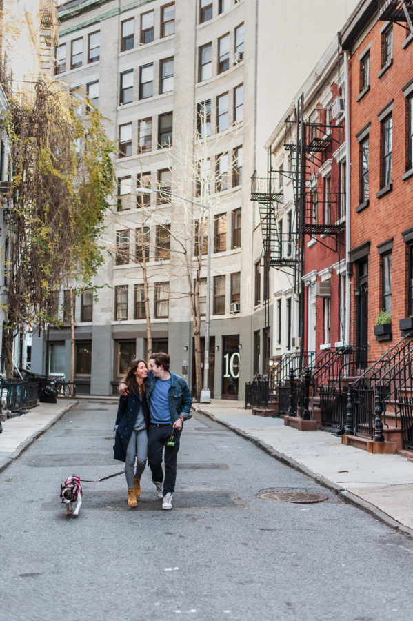 West Village Engagement Session, Home Session, NYC Engagement