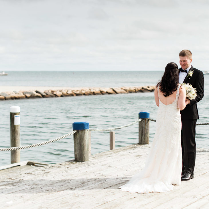 Elegant Fall Wychmere Beach Club Wedding, Harwich Port // Maura & John