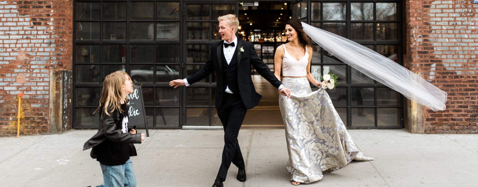Greenpoint Loft Wedding, Brooklyn Wedding