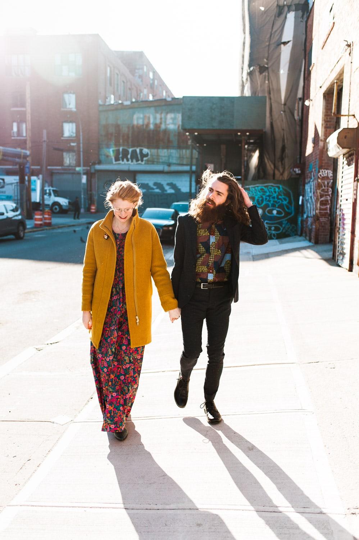 Brooklyn Greenpoint Loft // Kathryn + Jeff | Eileen Meny