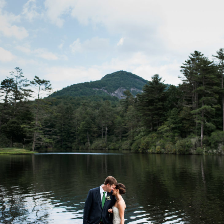 North Carolina Farm Wedding Kiersten Sam: Scribner's Catskill Lodge // Styled Wedding Feature